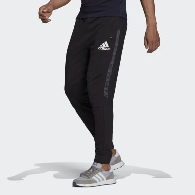 Men Gym & Training Black AEROREADY Designed To Move Sport Motion Logo Joggers