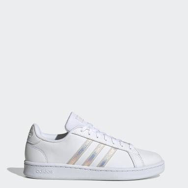 Women Essentials White Grand Court Shoes