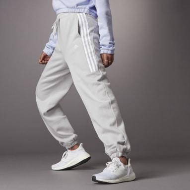 Women Sportswear Grey Hyperglam High-Rise Joggers 