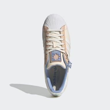 ผู้ชาย Originals สีเบจ รองเท้า Superstar