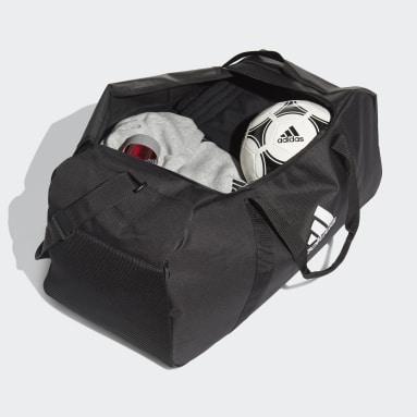 Fußball Tiro Primegreen Duffelbag L Schwarz