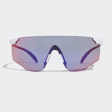 Lunettes de soleil Sport SP0031-H Blanc Running