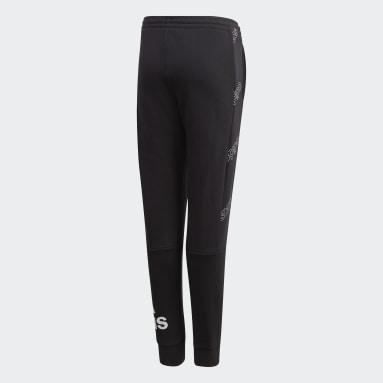 Pantalon Classics Allover Print noir Adolescents Essentials