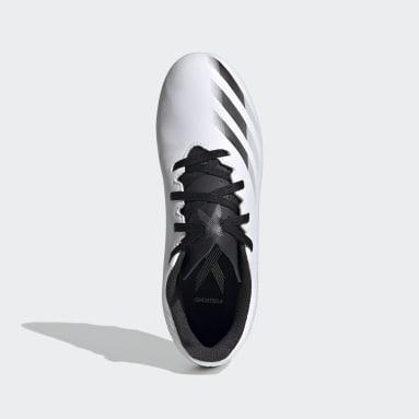 Calzado de Fútbol X Ghosted.4 Multiterreno Blanco Niño Fútbol