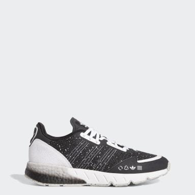 Men's Originals Grey ZX 1K Boost Shoes
