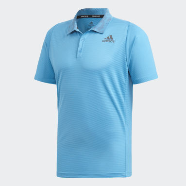Men Tennis Blue FreeLift Primeblue Polo Shirt