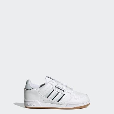 Kinderen Originals Wit Continental 80 Stripes Schoenen