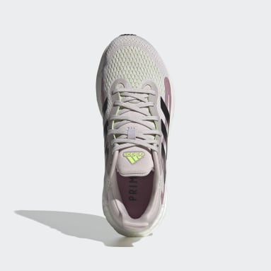 Women Running Purple SolarGlide 4 Shoes