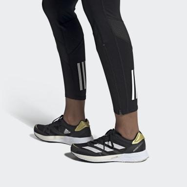 Kvinder Løb Sort Adizero Adios 6 sko