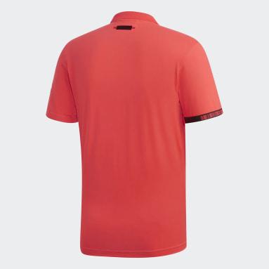 Erkek Tenis Kırmızı MatchCode Polo Tişört