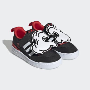 Kids 4-8 Years Originals Black Disney Forum 360 Shoes