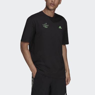 T-shirt Signature Noir Hommes Running