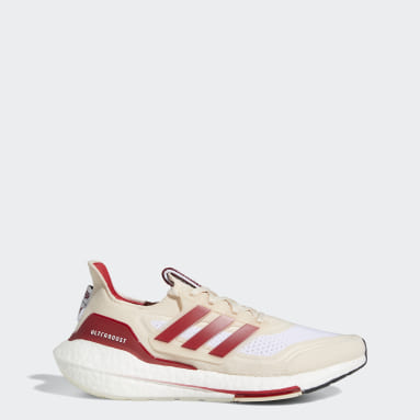 Running White Indiana Ultraboost 21 Shoes