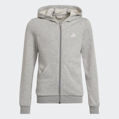 Giacca da allenamento adidas Essentials Grigio Ragazza Sportswear