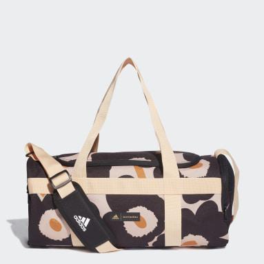 Marimekko Unikko Allover-Print Duffelbag, liten Rosa