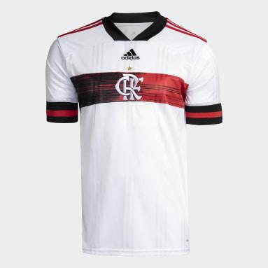Camisa CR Flamengo 2 Branco Homem Futebol