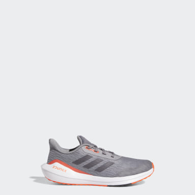 Children Running Grey EQ21 Run Shoes