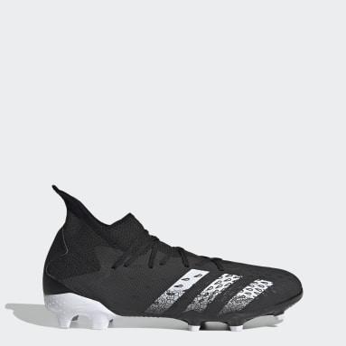 ผู้ชาย ฟุตบอล สีดำ รองเท้าฟุตบอล Predator Freak.3 Firm Ground