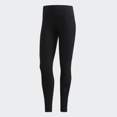 Women's Running Black How We Do Climaheat Tights