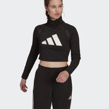 Maglia adidas Sportswear Long Sleeve Nero Donna Sportswear