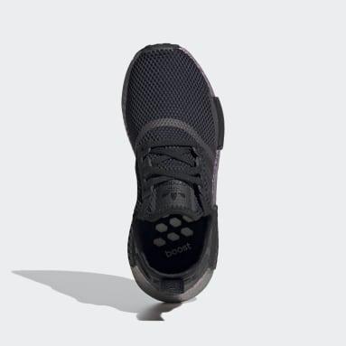 Kids Originals Black NMD_R1 Shoes