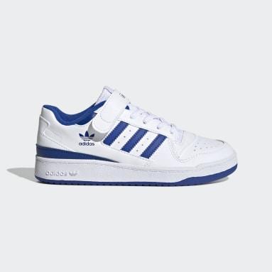 Sapatos Forum Low Branco Criança Originals