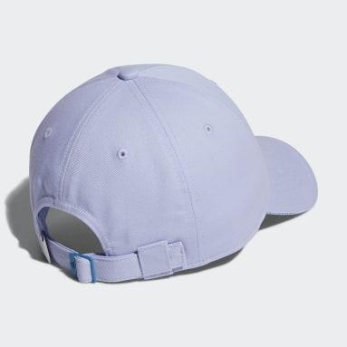Women Golf Purple Badge of Sport Twill Cap