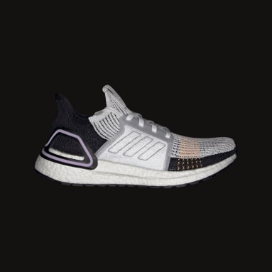 Women Running White Ultraboost 19 Shoes