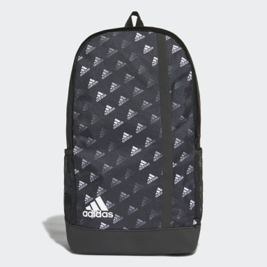 Volleyball Multicolor Linear Graphic Backpack