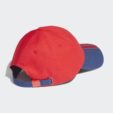 Fotbal červená Kšiltovka Arsenal Baseball