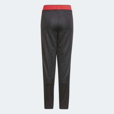 Pantaloni da allenamento Tiro Manchester United FC Nero Bambini Calcio