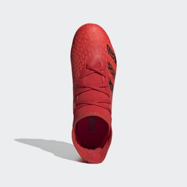Predator Freak.3 Multiground Boots Rojo Niño Fútbol