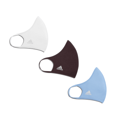 Originals White Reflective Face Covers 3-Pack