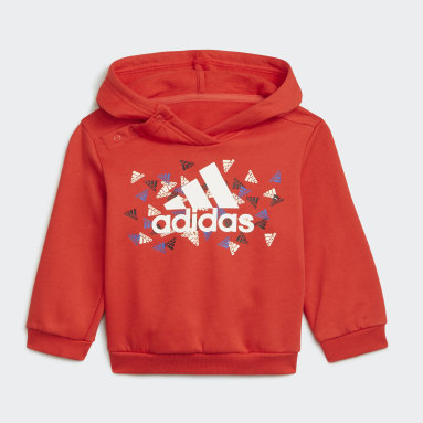 Kids Gym & Training Red Badge of Sport Graphic Jogger