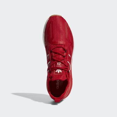 Men's Originals Red ZX 2K Boost Shoes
