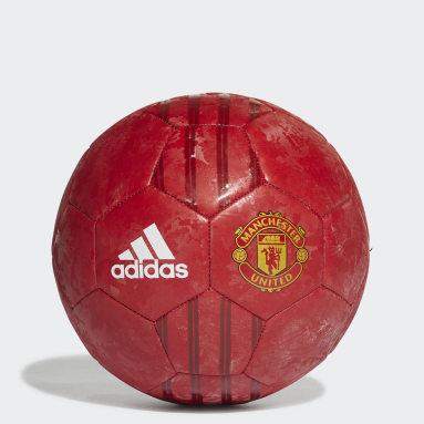 ฟุตบอล สีแดง ลูกฟุตบอล Manchester United Home