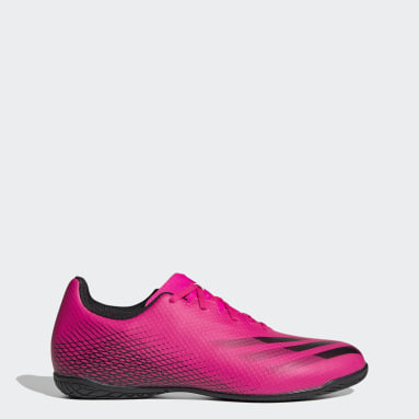 Men Football Pink X Ghosted.4 Indoor Boots