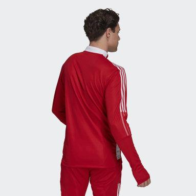 Men Football Red Ajax Amsterdam Tiro Training Top