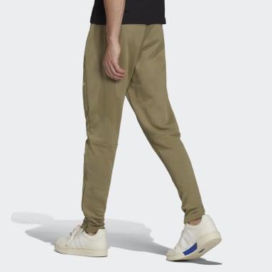 Calça Essentials Logo Verde Homem Estilo Esportivo