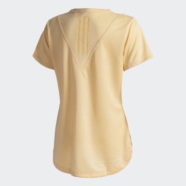 Camiseta Treino 3-Stripes HEAT.RDY Laranja Mulher Training