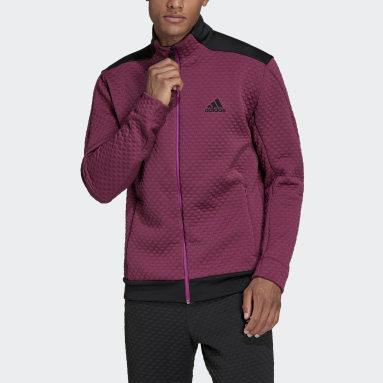 Men's Sportswear Burgundy adidas Z.N.E. Sportswear Primeblue COLD.RDY Track Top