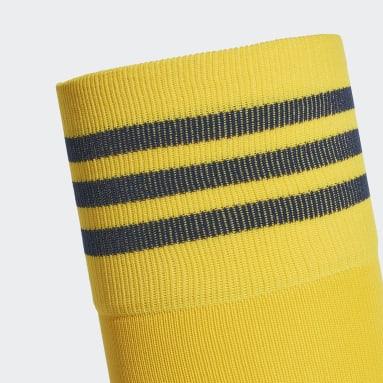 Football Yellow Arsenal Away Socks