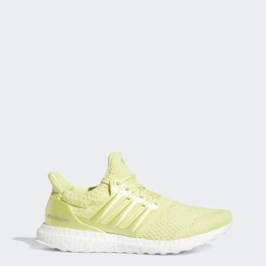 ผู้หญิง วิ่ง สีเหลือง รองเท้า Ultraboost 5.0 DNA