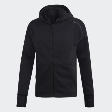 Muži Sportswear černá Mikina adidas Z.N.E. Fast Release