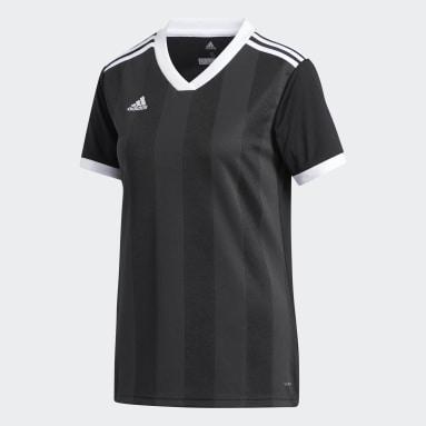 Frauen Fußball Tiro Trikot Schwarz