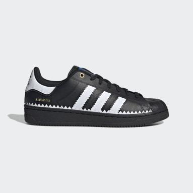 Men's Originals Black Superstar OT Tech Shoes