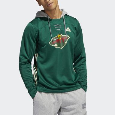 Men's Hockey Green Wild Skate Lace Hoodie