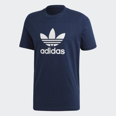 Men Originals Blue Trefoil T-Shirt