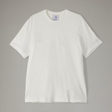 Erkek Y-3 Beyaz Y-3 CL Logo Tişört
