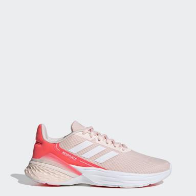 Women Running Pink Response SR Shoes